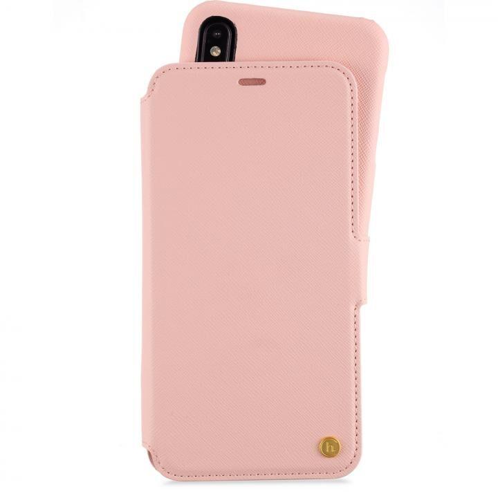 iPhone XS Max ケース Stockholm セパレート手帳型ケース Pink iPhone XS Max_0