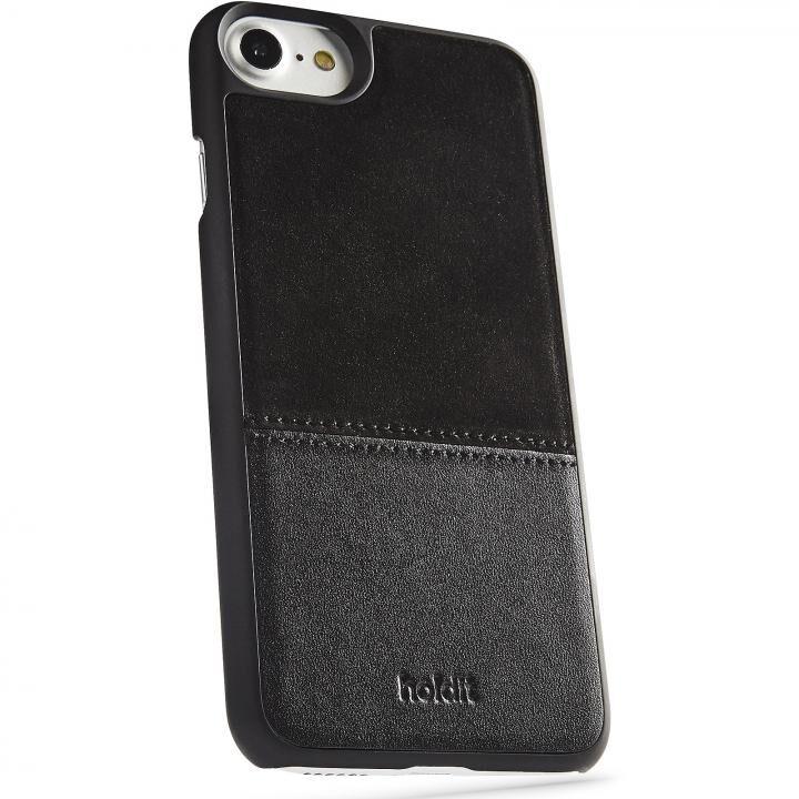 iPhone8/7/6s/6 ケース Kasa 本革ハードケース ブラック iPhone 8/7/6s/6_0