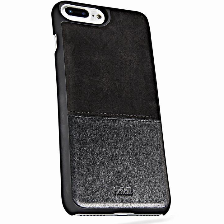 iPhone8 Plus/7 Plus ケース Kasa 本革ハードケース ブラック iPhone 8 Plus/7 Plus/6s Plus/6 Plus_0