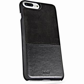 iPhone8 Plus/7 Plus ケース Kasa 本革ハードケース ブラック iPhone 8 Plus/7 Plus/6s Plus/6 Plus