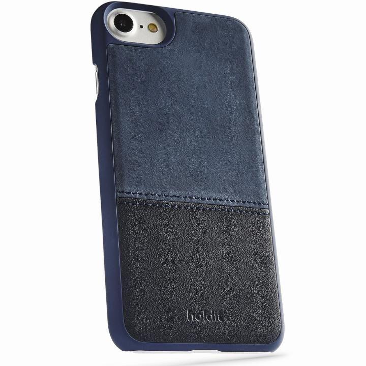 iPhone8/7/6s/6 ケース Kasa 本革ハードケース ブルー iPhone 8/7/6s/6_0