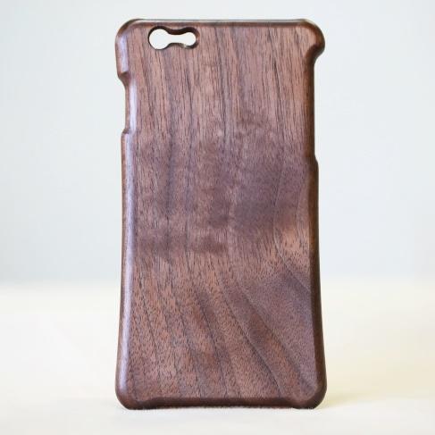 【iPhone6 Plusケース】松葉製作所 木製ケース ウォールナット iPhone 6 Plus_0