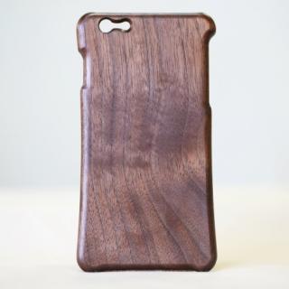 【iPhone6 Plusケース】松葉製作所 木製ケース ウォールナット iPhone 6 Plus