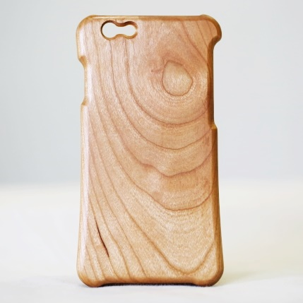 松葉製作所 木製ケース ブラックチェリー iPhone 6