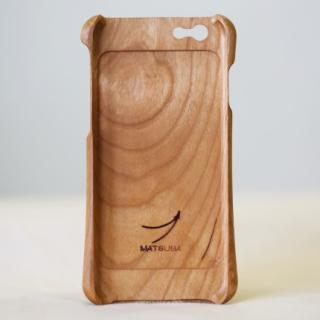 【iPhone6ケース】松葉製作所 木製ケース ブラックチェリー iPhone 6_1