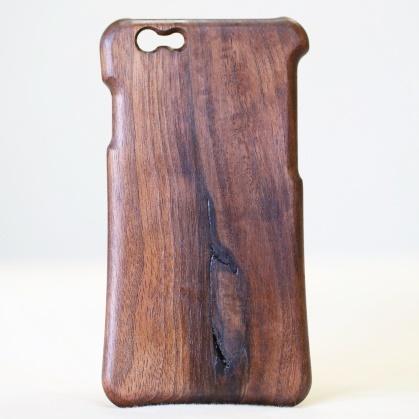 【iPhone6ケース】松葉製作所 木製ケース ウォールナット iPhone 6_0