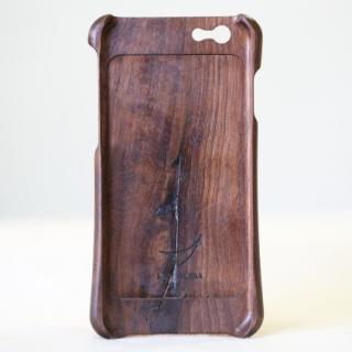 【iPhone6ケース】松葉製作所 木製ケース ウォールナット iPhone 6_1
