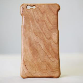 松葉製作所 木製ケース ブラックチェリー iPhone 6 Plus