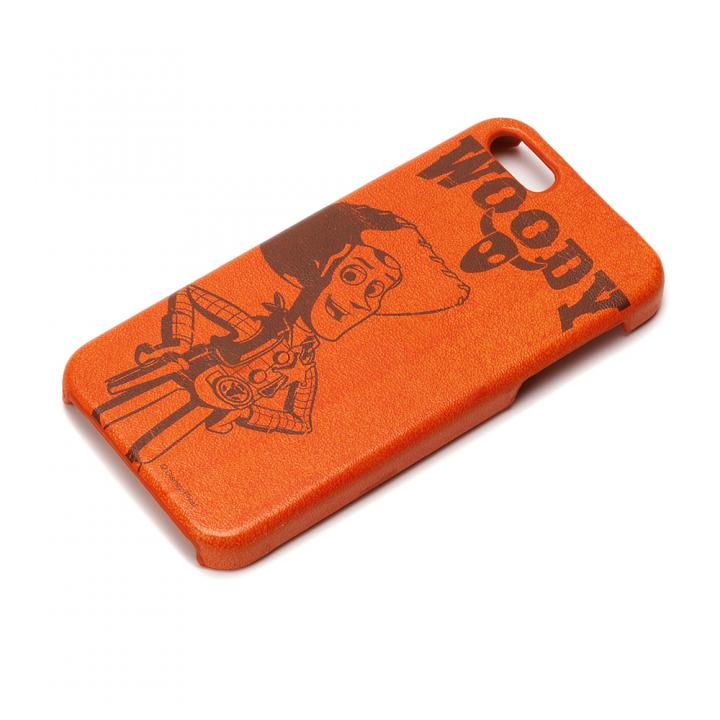 iPhone SE/5s/5 ケース ディズニー iPhone SE/5s/5用 レザーハードケース ウッディ_0