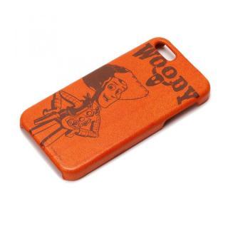 ディズニー iPhone SE/5s/5用 レザーハードケース ウッディ