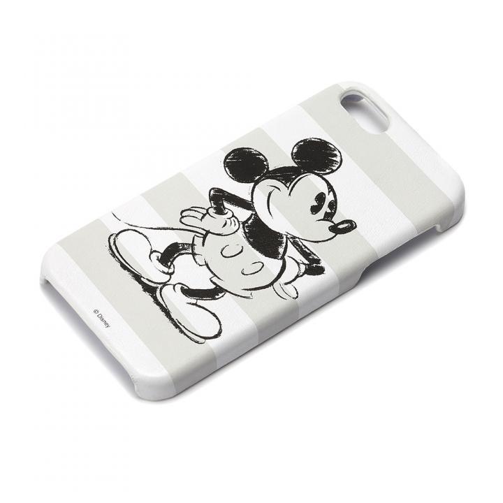 ディズニー iPhone SE/5s/5用 レザーハードケース ミッキーマウス