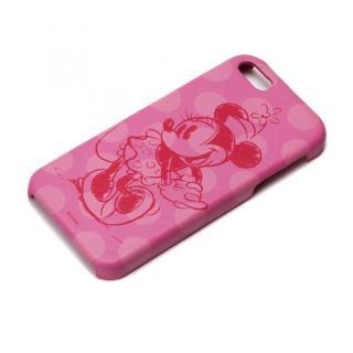 ディズニー iPhone SE/5s/5用 レザーハードケース ミニーマウス