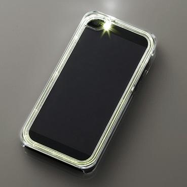 【iPhone SE/5s/5ケース】iPhone SE/5s/5用シャイニングケース/クリア_0