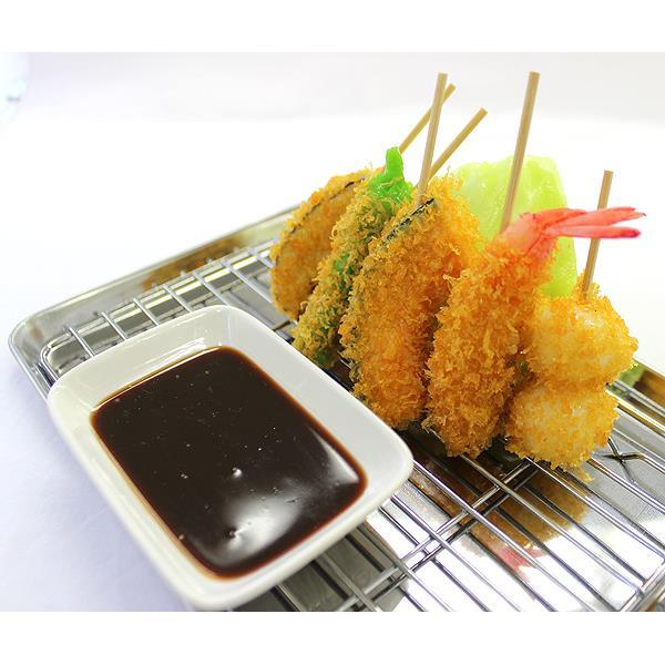 食品サンプルスタンド(串カツ盛り合わせ) 送料無料
