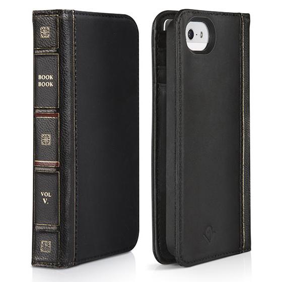 iPhone SE/5s/5 ケース 【iPhone SE/5s/5】BookBook クラシックブラック 手帳型ケース_0