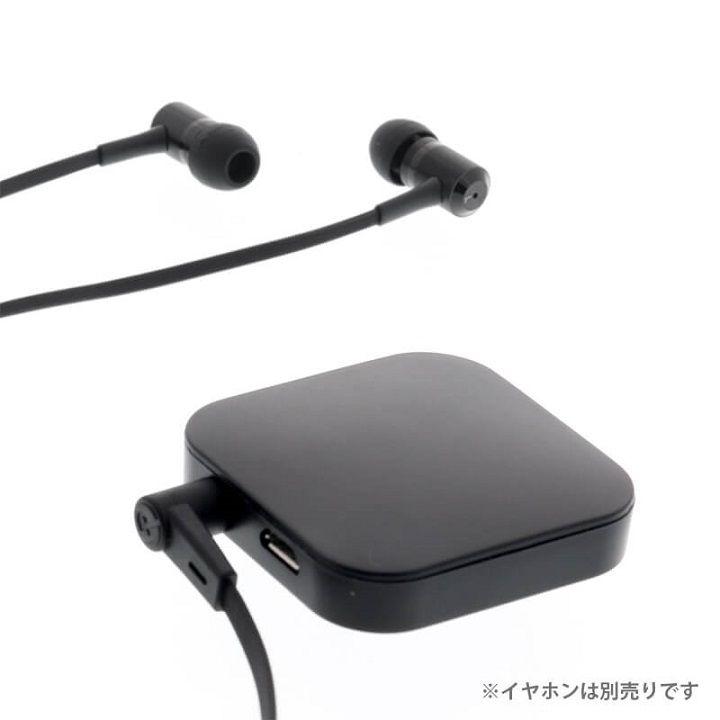 iPhone/スマートフォン ワイヤレスオーディオアダプタ 極の音域 Wireless Audio Adapter 受信機&送信機 ブラック