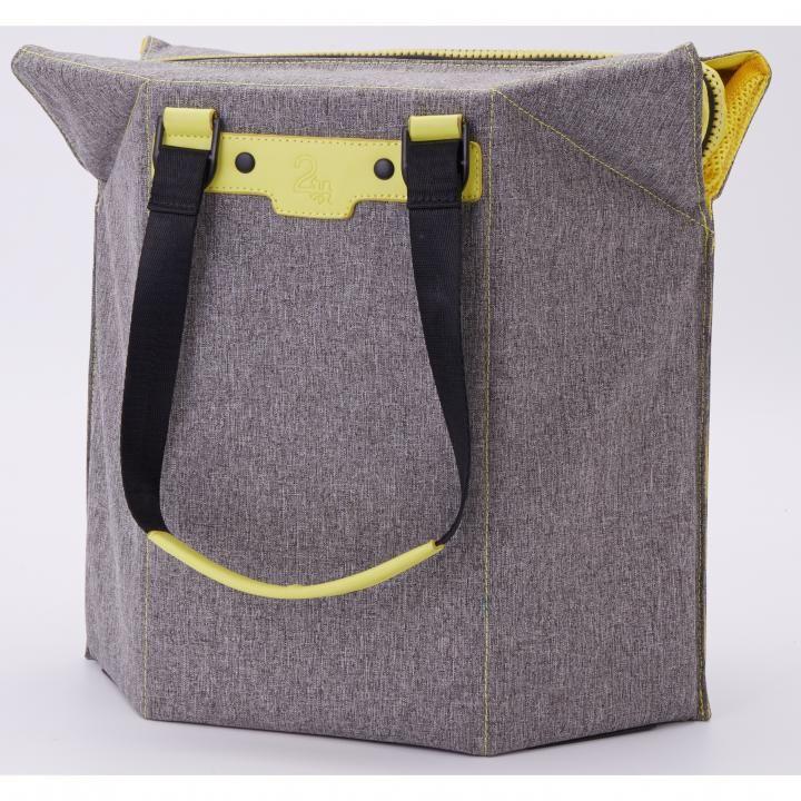 椅子になるバッグ Seat bag グレー_0