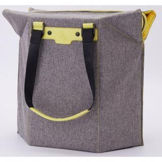 椅子になるバッグ Seat bag グレー