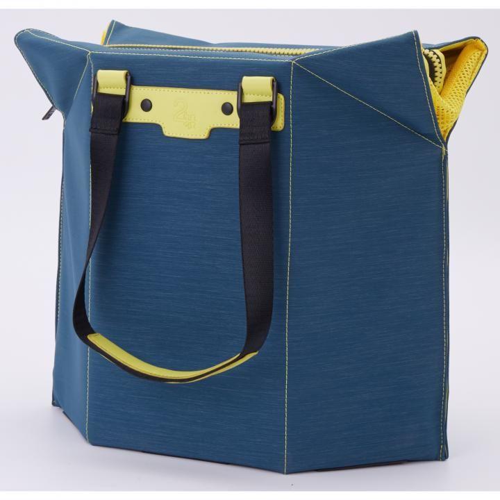 椅子になるバッグ Seat bag ブルー_0