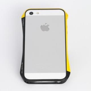 Cleave アルミバンパー Aero iPhone SE/5s/5 European Yellow/Black