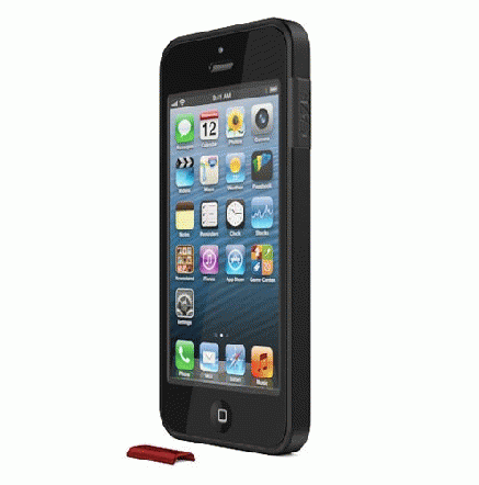 ThinEdge frame case  iPhone SE/5s/5 - Matte Black