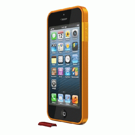 ThinEdge frame case  iPhone SE/5s/5 - Matte Orange