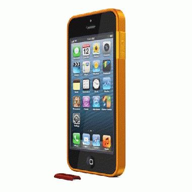 ThinEdge frame case  iPhone SE/5s/5 - Matte Orange