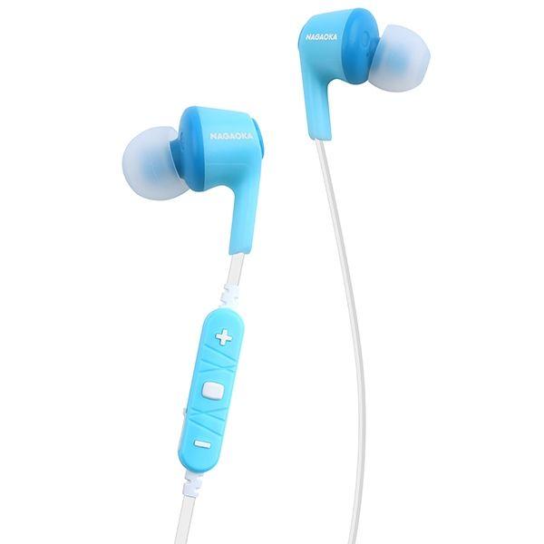 AAC対応 Bluetoothイヤホン BT807シリーズ ライトブルー
