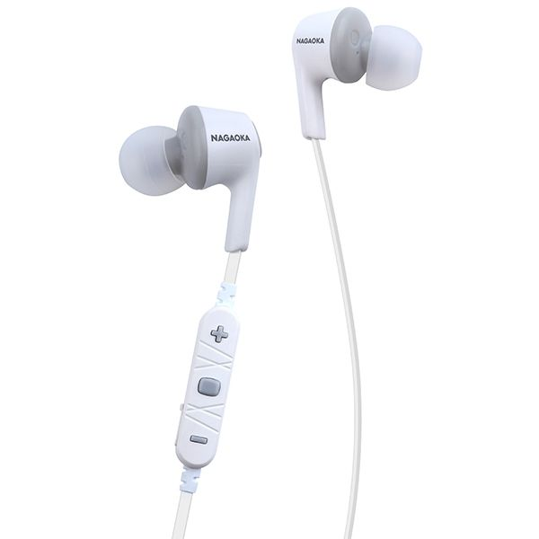 AAC対応 Bluetoothイヤホン BT807シリーズ ホワイトグレー_0