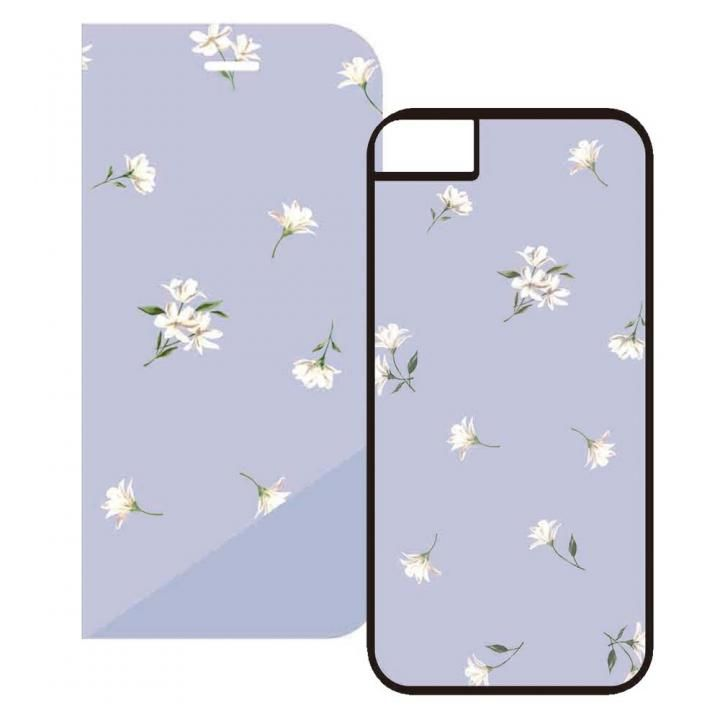 iPhone8/7/6s/6 ケース 2WAY CASE スマホケース white floret iPhone 8/7/6s/6_0