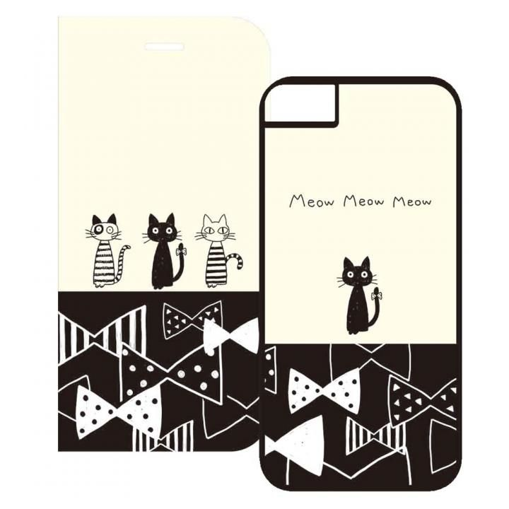 iPhone8/7/6s/6 ケース 2WAY CASE スマホケース MonochroRibbon iPhone 8/7/6s/6_0