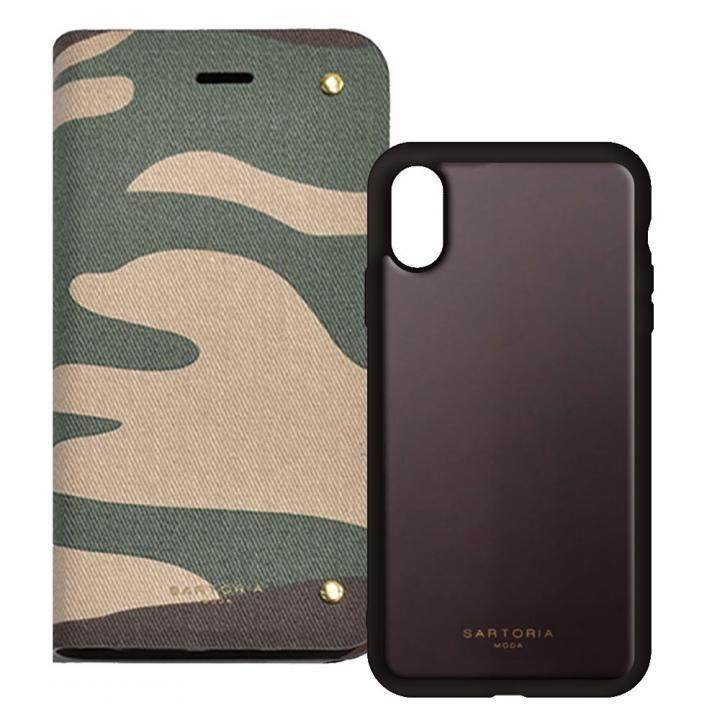 iPhone XS/X ケース 2WAY CASE スマホケース CAMO iPhone XS/X_0