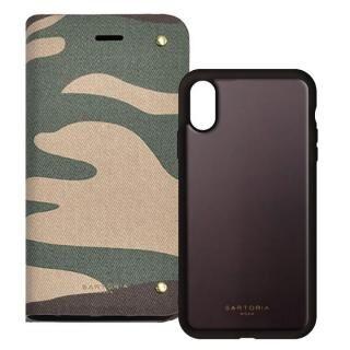 iPhone XS/X ケース 2WAY CASE スマホケース CAMO iPhone XS/X【3月下旬】