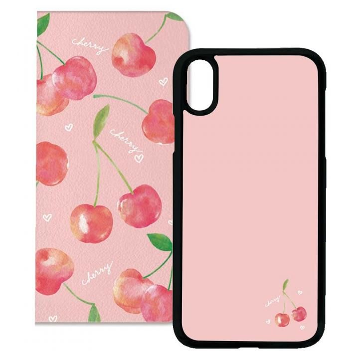 iPhone XS/X ケース 2WAY CASE スマホケース Cherry iPhone XS/X_0