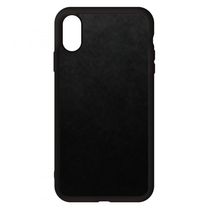 iPhone XS/X ケース 栃木レザー スマホケース 漆黒 iPhone XS/X_0