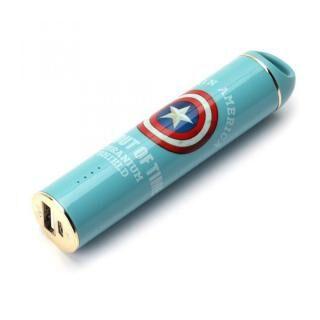 MARVEL モバイルバッテリー 3,350mAh キャプテン・アメリカ【3月下旬】