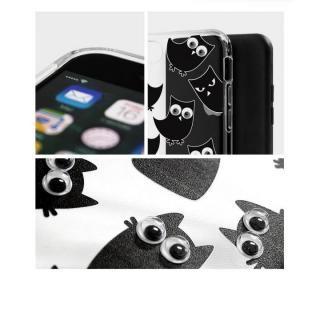 【iPhone7ケース】クリアTPUデザインケース EYE キャット iPhone 7_6