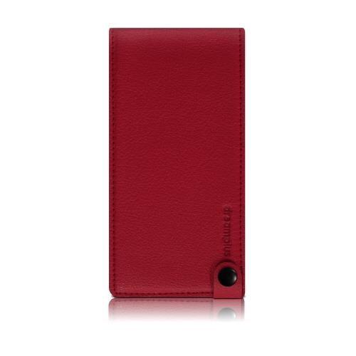 縦開きタイプ 手帳型ケース RETRO FOLDER JACKET レッド iPhone 7