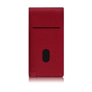 【iPhone7ケース】縦開きタイプ 手帳型ケース RETRO FOLDER JACKET レッド iPhone 7_1