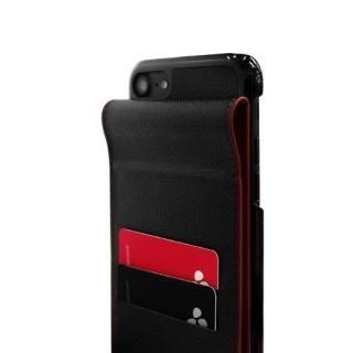 【iPhone7ケース】縦開きタイプ 手帳型ケース RETRO FOLDER JACKET レッド iPhone 7_3