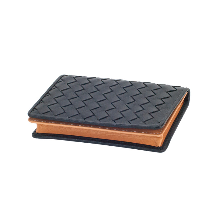 PLP/バッファロー・イントレチャート/カードケース(名刺入れ) ブラック