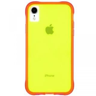 iPhone XR ケース Case-Mate Tough Clear Neon ケース Green Pink iPhone XR【3月下旬】