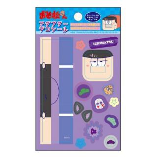 おそ松さん iPhone4/4s/5s/6/6s用純正アダプターデコシール  一松