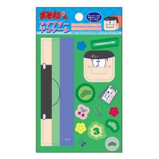 おそ松さん iPhone4/4s/5s/6/6s用純正アダプターデコシール  チョロ松