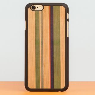 スナップオン 天然木ケース PRINTED  Stripes 2 iPhone 6