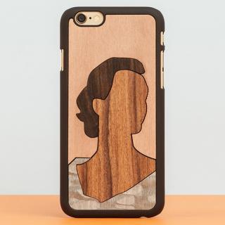 iPhone6 ケース スナップオン 天然木ケース INLAYS Edith iPhone 6