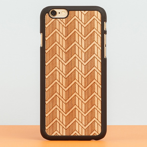 iPhone6 Plus ケース スナップオン 天然木ケース DECORATED  GREEK iPhone 6 Plus_0