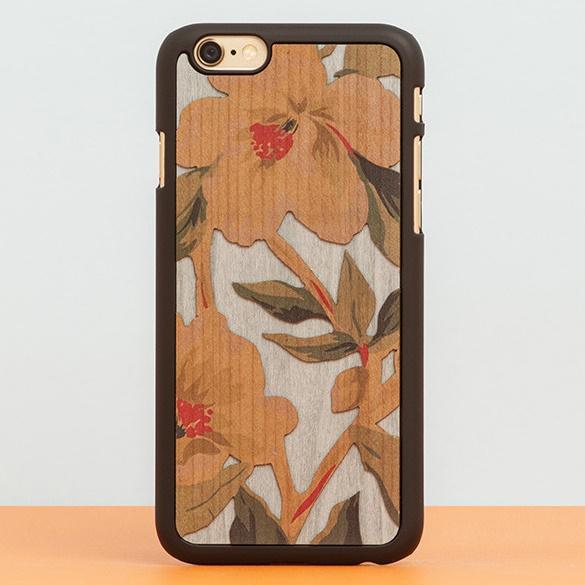 【iPhone6ケース】スナップオン 天然木ケース DOUBLE ESSENCE HONOLULU iPhone 6_0