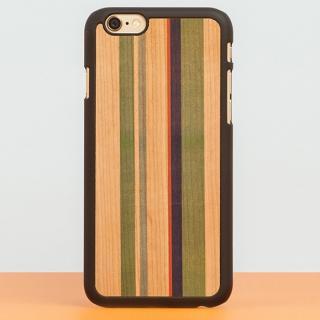 スナップオン 天然木ケース PRINTED  Stripes 2 iPhone 6 Plus
