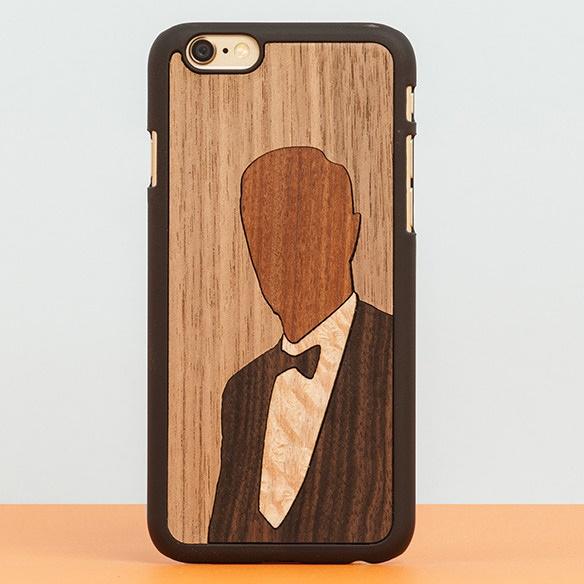 iPhone6 Plus ケース スナップオン 天然木ケース INLAYS Enoch iPhone 6 Plus_0
